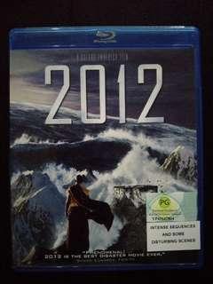2012 Blu Ray Movies