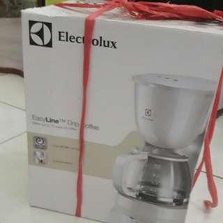 Electrolux coffe maker +paper filter