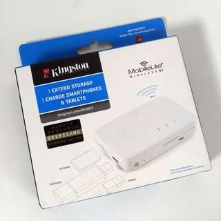 Kingston MobileLite Wireless G3 無線讀卡機 Wireless Card Reader (iPhone Android PC 可用)