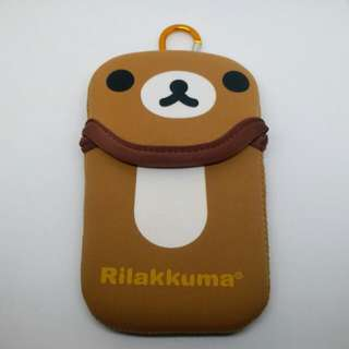 Rilakkuma 鬆弛熊 日本卡通人物 小型收納袋 保護套 多用途 八達通袋 卡套 煙套 唇膏 hand cream 藥油 掛鈎 裝飾 手袋 背包 飾物