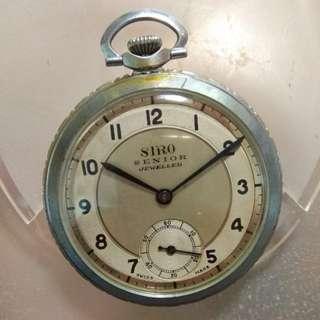 SIRO(ORIS)30-40年代舊袋錶 watch