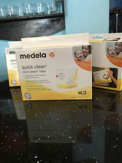 medela steam bags