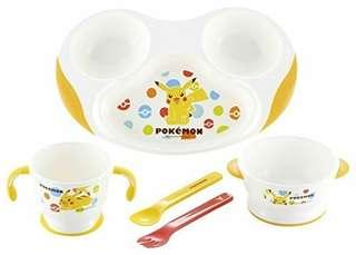 Pokemon比卡超 BB餐具
