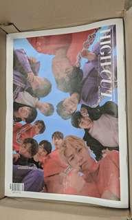 Wanna One High Cut雜誌