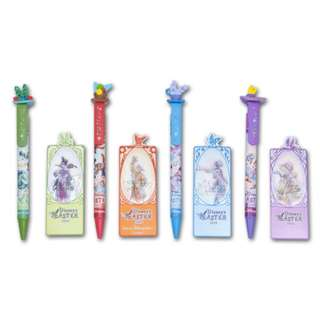 Tokyo Disneysea Disneyland Disney Resorts Sea Land Easter 2018 Ballpoint Pen & Book Marker Set Preorder