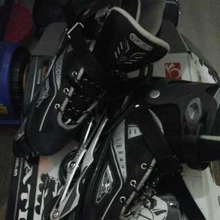 In line skate ukuran 42 merk Tian-e