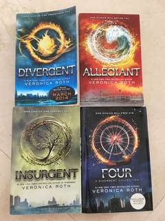 Divergent Series by Veronica Roth - 4 Books
