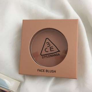 Instock authentic Korea stylenanda 3ce rose beige blusher