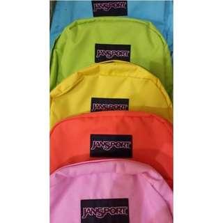 Plain authentic jansport bags