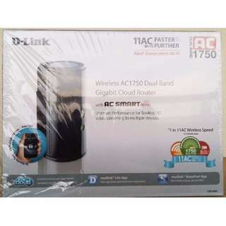 D-Link Wireless AC1750 (Dual Band Gigabit Coloud Router DIR 868L)