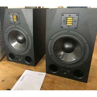 Adam Audio A8X Studio Monitor Speaker (Pair)