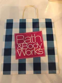 Bath & Body Works Paper Bag