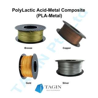 METAL-PLA (Metal Particles Infused)3D filament (1kg)