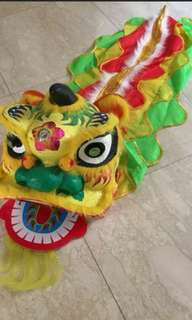 Lion dance head kids