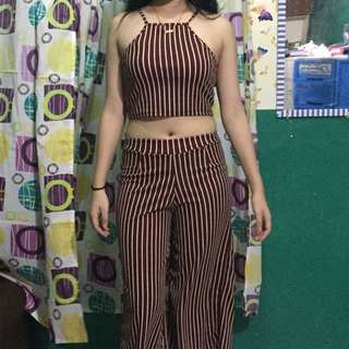 Terno- top and culottes