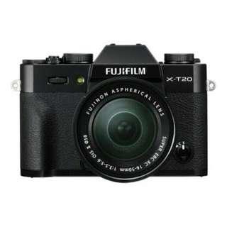 FUJIFILM X-T20 KIT 16-50MM OIS II BLACK