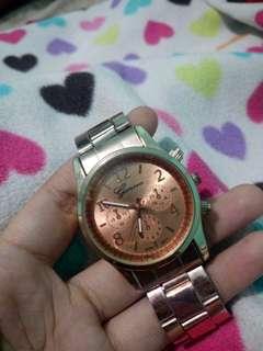 Jam tangan Ganeva rosegold