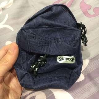 [全新]Outdoor 小包 掛包 腰包 鑰匙包