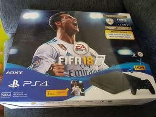 BNIB PS4 FIFA 18 Bundle set 500GB