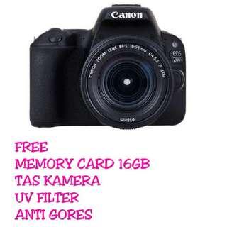 CANON EOS 200D KIT 18-55MM IS STM (BONUS KOMPLIT )