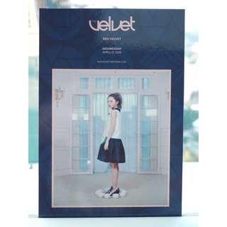 Red Velvet-《The Velvet》台灣限定postcard