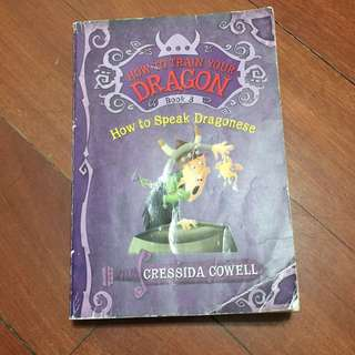 How to train your Dragon book 3, how to speak dragonese