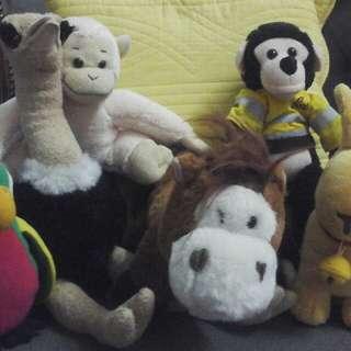 Animal Kingdom Softtoys 6pcs