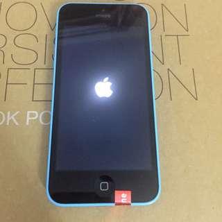 原裝iPhone5c 16G蓝色