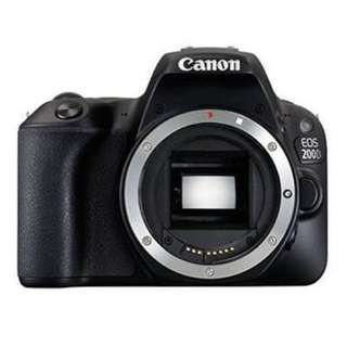 CANON 200D BODY ONLY