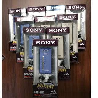 <DSE必備系列>  SONY-SRF S84 收音機