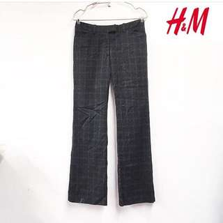 H&M checked trouser