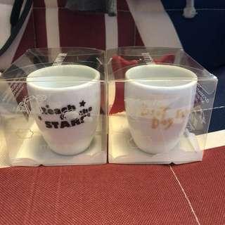 Small couple cups 小情侶杯 包SF自取