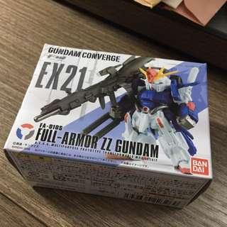 全新 FW converge fa full armor zz gundam ex 21