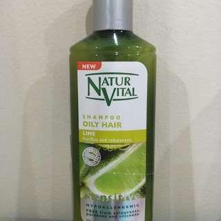 NaturVital Oily Scalp Shampoo