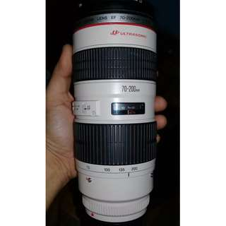 Canon ultrasonic EF 70-200mm