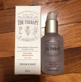 The face shop the therapy first serum 50ml
