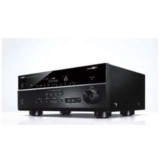 Yamaha RX-V675 7.2 Channel Network AV Receiver amplifier with Airplay