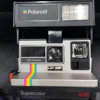 寶麗萊即影即有相機 Polaroid supercolor 635