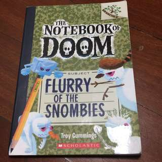 The notebook book of doom, Flurry of the Snombies