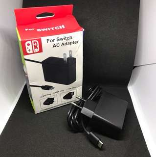 Nintendo Switch AC Adapter 2 Round Pin
