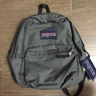 Jansport backpack gray NOT nike adidas champion jordan supreme stussy huf dickies