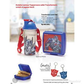 Tapperware Transformer Lunch Set