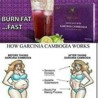 IAM grapejuice with Garcinia cambogia