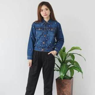 Jacket jeans fit to L