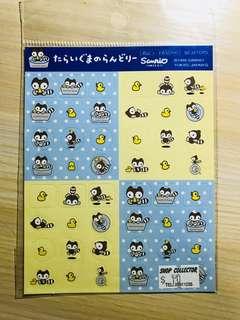 Sanrio 小浣熊 貼紙