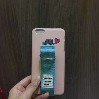 Second unique(pink,blue strap) iphone 6s+