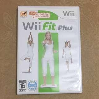 Wii fit plus CD nitendo