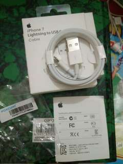 Cable kabel data lightning Iphone 5,6,7 Original 100%