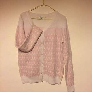 🚚 a la sha 粉色毛衣
