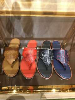 Tory Burch全皮涼鞋